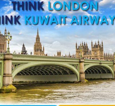 THINK LONDON THINK KUWAIT AIRWAYS
