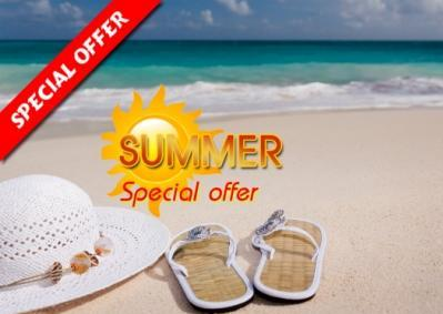 SPECIAL SUMMER PROMOTION PACKAGES